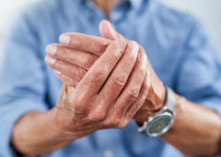 Arthritis relief with whole body vibration